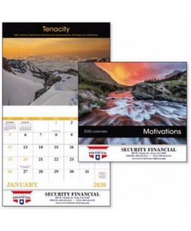 Good Value® Motivations Stapled Calendar