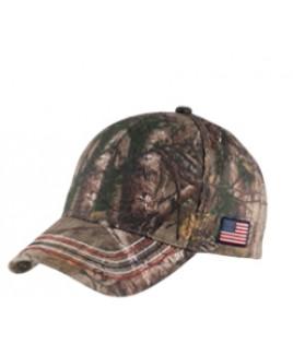 Port Authority® Americana Contrast Stitch Camouflage Cap