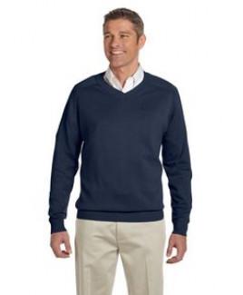 Devon and Jones Men's V-Neck Sweater