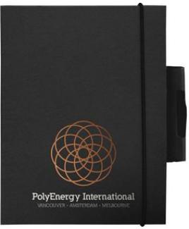 "EcoWrap™ Small NotePad w/Pen (5""x7"")"