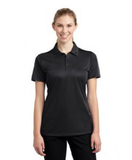 Ladies' Sport-Tek® Active Textured Colorblock Polo Shirt