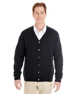 Harriton Men's Pilbloc? V-Neck Button Cardigan Sweater