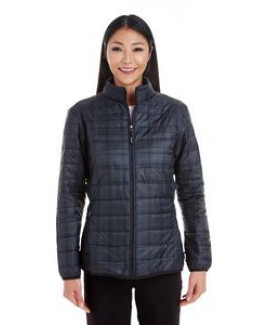 NORTH END Ladies' Portal Interactive Printed Packable Puffer Jacket