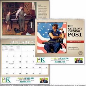 Triumph® The Saturday Evening Post Calendar
