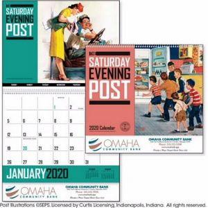 Triumph® The Saturday Evening Post Artwork Calendar