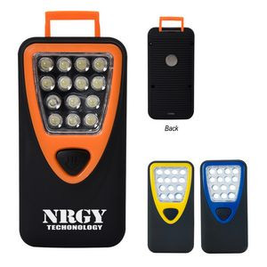 Rubberized Working Light With Heavy Duty Magnet