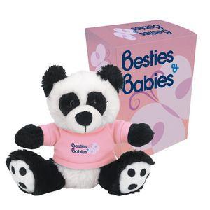 "6"" Big Paw Panda With Custom Box"
