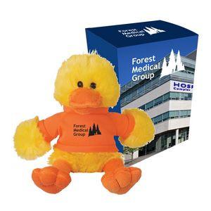 "6"" Delightful Duck With Custom Box"