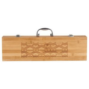 Grill Master 3pc Bamboo BBQ Set