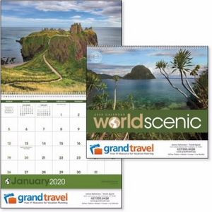 Triumph® World Scenic Calendar