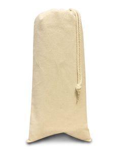 Liberty Bags Drawstring Wine Tote