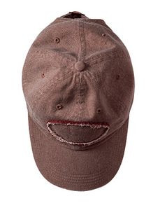 Authentic Pigment Accessories Pigment-Dyed Raw-Edge Patch Baseball Cap
