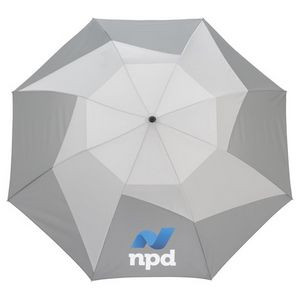 """46"""" Vented, Auto Open Folding PinWheel Umbrella"""