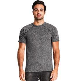 NEXT LEVEL APPAREL Men's Mock Twist Raglan T-Shirt