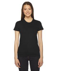 American Apparel Ladies' Fine Jersey USA Made Short-Sleeve T-Shirt