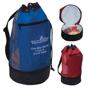 Beach Bag With Cooler Compartment