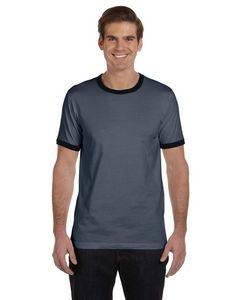 Canvas Men's Jersey Short-Sleeve Ringer T-Shirt