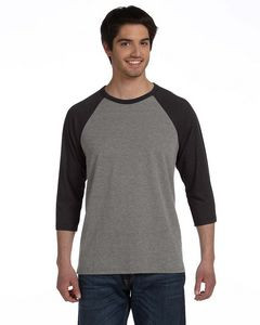Canvas Unisex 3/4-Sleeve Baseball T-Shirt