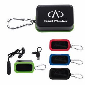 Good Value® Bluetooth® Earbuds w/Carabiner Case