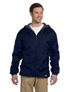 Williamson-Dickie Mfg Co Men's Fleece-Lined Hooded Nylon Jacket