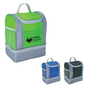 Two-Tone Cooler Lunch Bag
