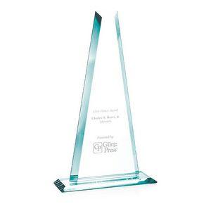 """16"""" Jaffa® Jade Crystal Tower Award"""