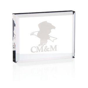 Jaffa® Crystal Paperweight