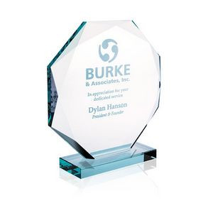 Jaffa® Small Jade Octagon Award