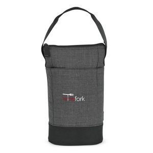 Heritage Supply Tanner Insulated Wine Kit - Charcoal Heather