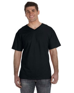 Fruit of the Loom Adult HD Cotton? V-Neck T-Shirt