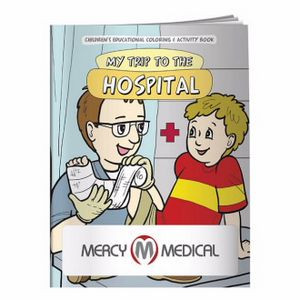 BIC Graphic® Coloring Book: My Trip to the Hospital