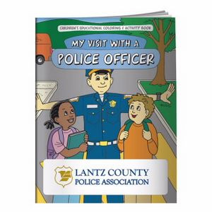 BIC Graphic® Coloring Book: My Visit w/A Police Officer
