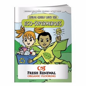BIC Graphic® Coloring Book: Eco-Superheroes