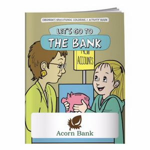 BIC Graphic® Coloring Book: Let's Go to the Bank