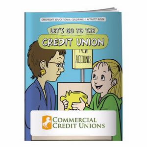 BIC Graphic® Coloring Book: Let's Go to the Credit Union