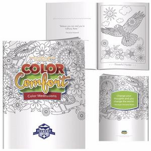 BIC Graphic® Hues of Happiness Flowers Adult Coloring Book