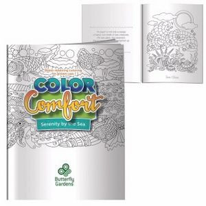 BIC Graphic® Serenity by the Sea Adult Coloring Book