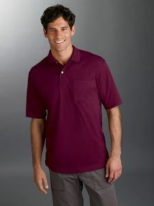Jerzees Adult SpotShield? Pocket Jersey Polo
