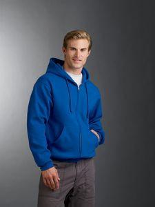 Jerzees Adult Super Sweats® NuBlend® Fleece Full-Zip Hooded Sweatshirt