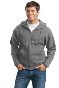 Jerzees® Men's Super Sweats® NuBlend® Full-Zip Hooded Sweatshirt