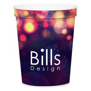 16 Oz. Full Color Stadium Cup