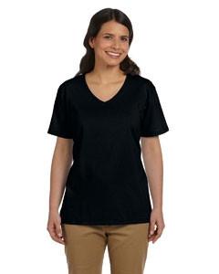 Hanes Printables Ladies' V-Neck T-Shirt