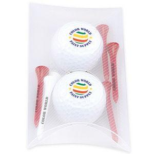 Titleist® 2 Ball Pillow Pack w/Titleist® TruSoft™ Golf Balls