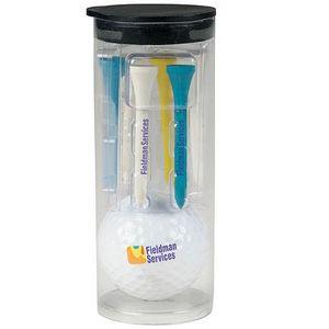 Titleist® Par Pack Tube w/Golf Ball-N-Tees w/Titleist?® TruSoft™ Golf Ball