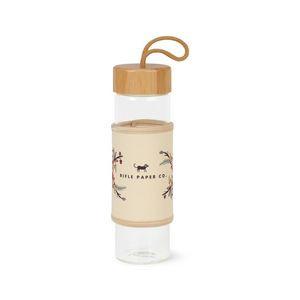 Serenity Bamboo Glass Bottle - 18.5 Oz. - Natural