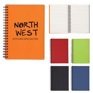 Rubbery Spiral Notebook