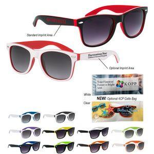 Two-Tone Malibu Sunglasses