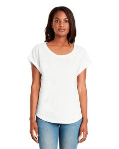 NEXT LEVEL APPAREL Ladies' Dolman with RolledSleeves
