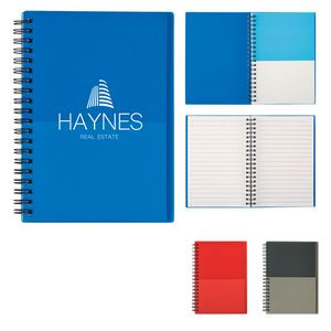 Two-Tone Spiral Notebook
