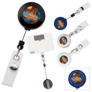 Good Value® Retractable Badge Holder w/Slide Clip